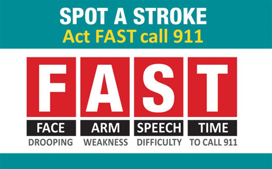 How to spot signs of a stroke