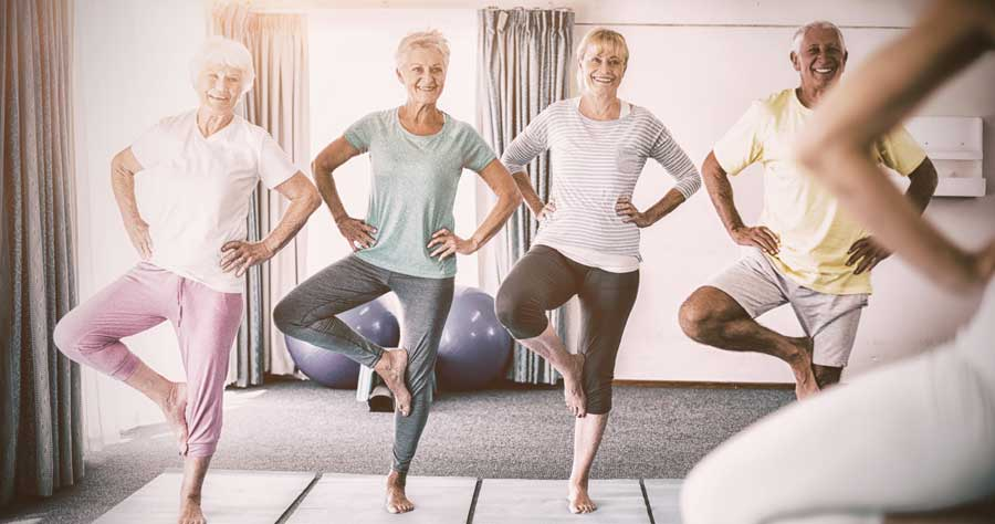 Functional fitness for over 65s