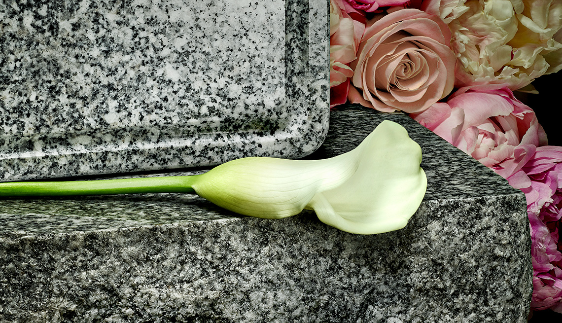 funeral grave stone